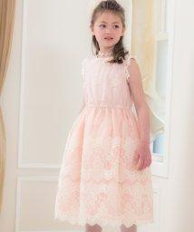 Catherine Cottage/清楚なオーガンジー刺繍ドレス /502377438
