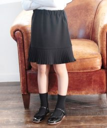 Rora/Rora ペイジー 裾プリーツ 膝丈スカート110cm/502377748