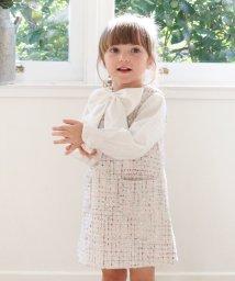 Rora/Rora マオ ツイード ジャンパースカート/502377928