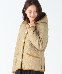Demi-Luxe BEAMS/Traditional Weatherwear / 別注 Waverly フード ショートブルゾン/502284721