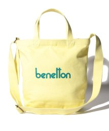 BENETTON (women)/2WAYロゴショルダートートバッグS/502365831