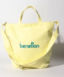 BENETTON (women)/2WAYロゴショルダートートバッグM/502365832
