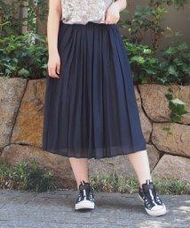INTERPLANET/シルキーローンギャザースカート/502368500