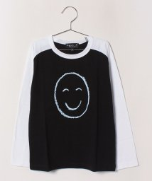 agnes b. ENFANT/SBQ9 E TS Good mood Bad mood Tシャツ/502375193