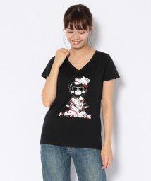 RoyalFlash/TANTA/タンタ/×HELLO KITTY CHAMMYKITTY LOVE TEE/ハローキティコラボ チャーミーキティ Tシャツ/502378800