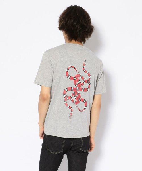 LHP(エルエイチピー)/MADDICT/マディクト/CLUBスネークTシャツ/6016813821-60