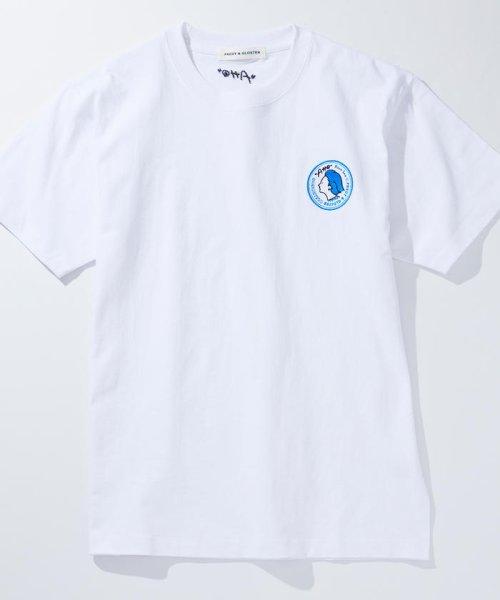 FREDY&GLOSTER(フレディアンドグロスター)/【Rooo Lou×FG】刺繍Tシャツ/9-0362-2-20-610