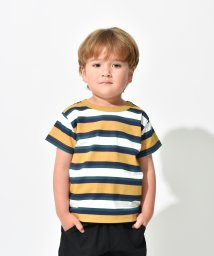 branshes/【プチプラ】マルチボーダー半袖Tシャツ(90~150cm)/502381689