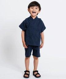 SHIPS KIDS/SHIPS KIDS:刺し子 甚平(100~120cm)/502382611