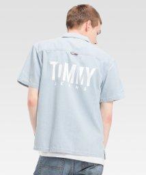 TOMMY JEANS/バックロゴデニムシャツ /502363342