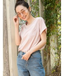 Shelly island/クルーネック裾ラウンドTシャツ/502363693