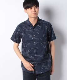 JNSJNM/【GIL EVANS】ワガラプリントシャツ/502365046