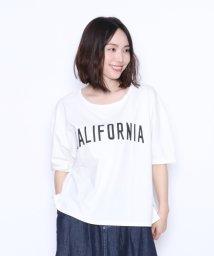 LASUD/[RADIATE ラディエイト]製品染め CALIFORNIA ロゴTシャツ/502367677