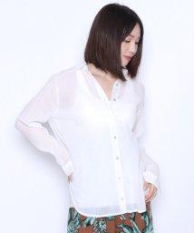 LASUD/[RADIATE ラディエイト]製品染め ガーゼシャツ(2019ss)/502367680