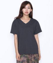 LASUD/[Mansart マンサール]胸ポケット Vネック Tシャツ/502367688