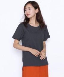 LASUD/[Mansart マンサール]胸ポケット ラウンドネック Tシャツ/502367689