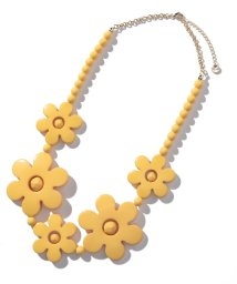 To b. by agnes b./WF09 NECKLACE フラワーモチーフネックレス/502371111
