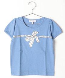 agnes b. ENFANT/SA96 E TS リボンプリントTシャツ/502375190