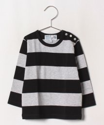 agnes b. ENFANT/J019 L TS ボーダーTシャツ/502375213