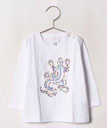agnes b. ENFANT/SBQ3 E TS レザールTシャツ/502375220