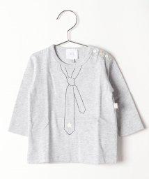 agnes b. ENFANT/SBQ7 L TS トロンプルイユTシャツ/502375221