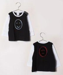 agnes b. ENFANT/SBQ9 L TS Good mood Bad mood Tシャツ/502375222