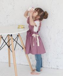 Rora/コジー エプロン ドレス(2color)/502377998