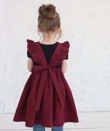 Rora/ミンゴ エプロン ドレス(2color)/502377999