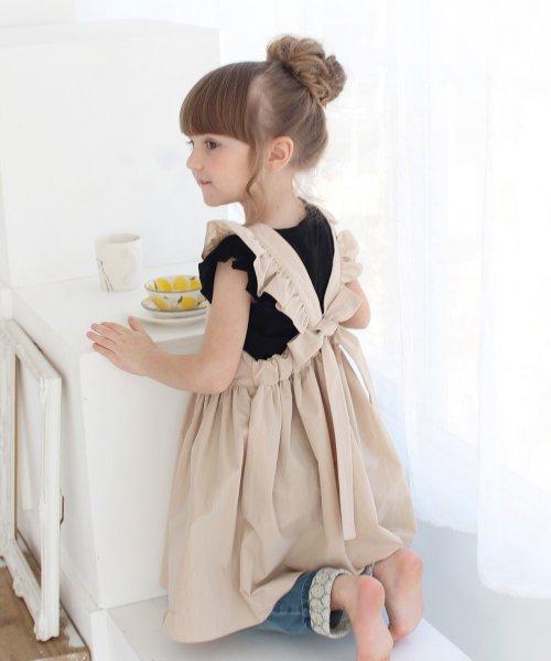 Rora(ローラ)/ミンゴ エプロン ドレス(2color)/5014-19-55