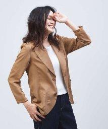 qualite/オーガンジーシャツジャケット/502382880