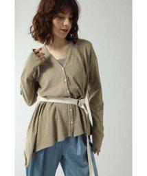 ROSE BUD/バックオープンロングTシャツ/502383858