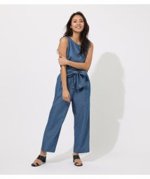 AZUL by moussy/TUCK DENIM ALL IN ONE/502383904