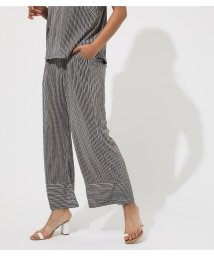 AZUL by moussy/AFRICAN STRIPS PLEATED PANTS/502383908