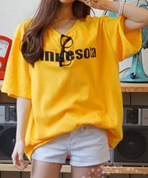 felt maglietta/オーバーサイズロゴTシャツ/502384310