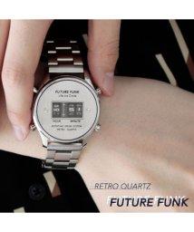 THE CASUAL/(バイヤーズセレクト)Buyer's Select アナログデジタルクオーツメタルバンド腕時計/502384669