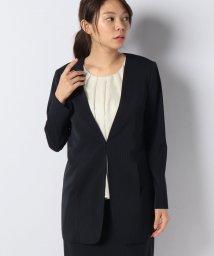 Leilian/【セットアップ対応商品】ノーカラーロングジャケット              /502341995