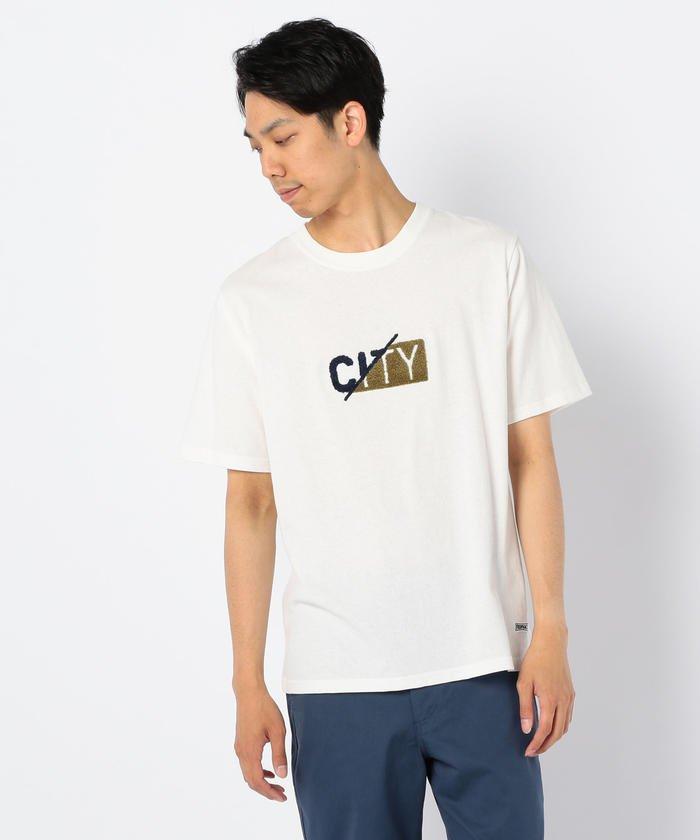 『CITY 』サガラ刺しゅうTシャツ