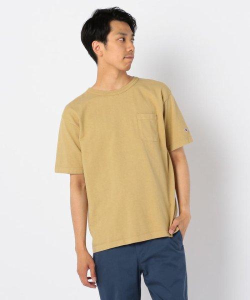 GLOSTER(GLOSTER)/【Champion/チャンピオン】T1011 ポケット付き US Tシャツ/9-0670-2-53-010