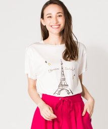 en recre/【Special Price】モチーフプリントTシャツ/502375741
