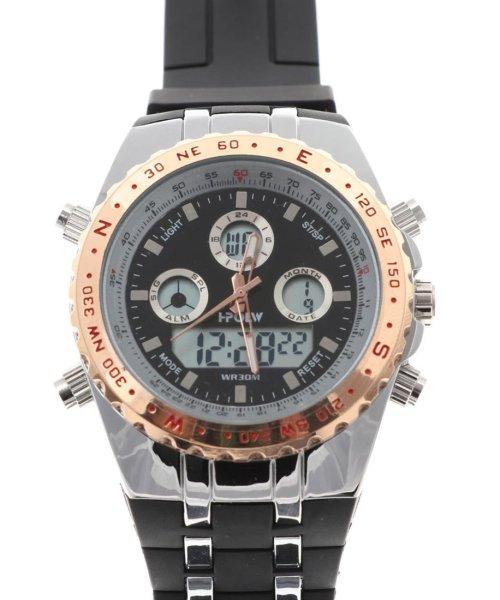 SP(エスピー)/【HPFS】アナデジ アナログ&デジタル腕時計 HPFS584 メンズ腕時計 デジアナ/WTHPFS584