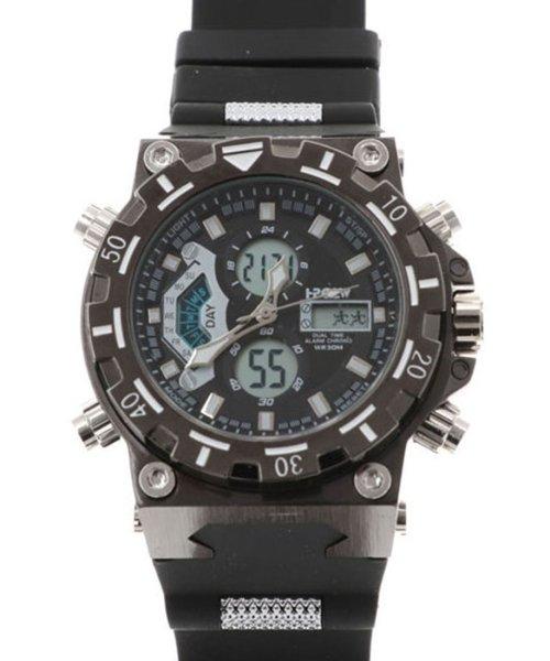 SP(エスピー)/【HPFS】アナデジ アナログ&デジタル腕時計 HPFS628 メンズ腕時計 デジアナ/WTHPFS628