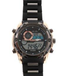 SP/【HPFS】アナデジ アナログ&デジタル腕時計 HPFS618A-BKBK メンズ腕時計/502382667