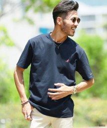 JIGGYS SHOP/KANGOL (カンゴール) 刺繍ロゴTシャツ / Tシャツ クルーネック メンズ 半袖 ティーシャツ/502387789