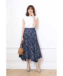 JUSGLITTY/【Marisol10月号掲載】刺繍レースアシメスカート/502388202