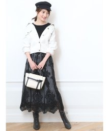 Apuweiser-riche/パネル刺繍ロングスカート/502388494