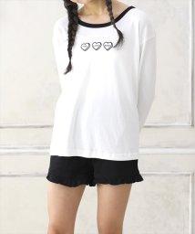 LACEEQ/長袖Tシャツ&ショートパンツset/502389044
