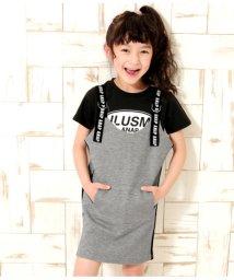 ANAP KIDS/サイドラインジャンパースカート/501998716
