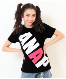 ANAP GiRL/BIGロゴプリントTシャツ/501998730