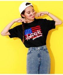 ANAP GiRL/アメリカストリートロゴTシャツ/502353424