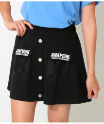 ANAP GiRL/メッシュポケットインパンツスカート/502361492